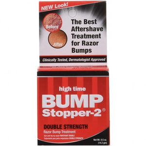 High Time Bump Stopper 2 Double Strength Razor Bump Treatment 0.5 oz