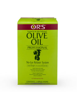 ORS Olive Oil Professional No Lye Relaxer System Extra Strength 2 Applications
