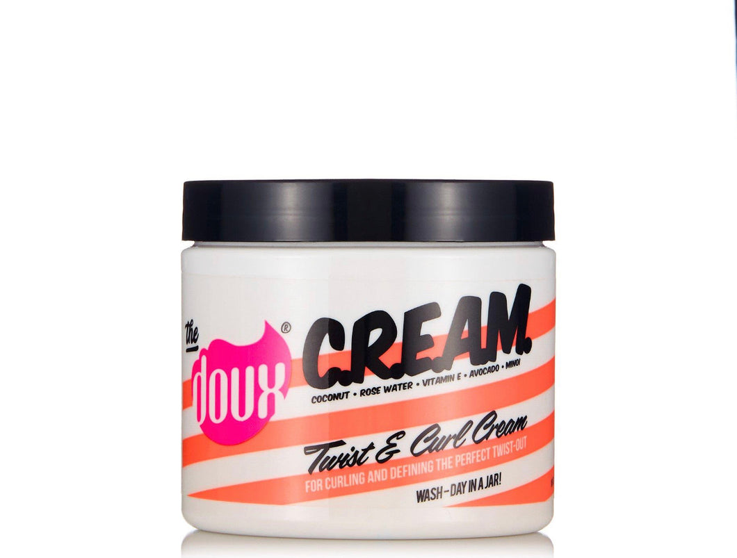 The Doux CREAM Coconut & Avocado Twist & Curl Style Cream 16 oz