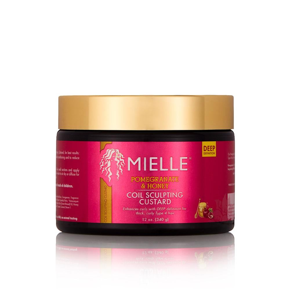 Mielle Pomegranate & Honey Coil & Sculpting Custard 12 oz