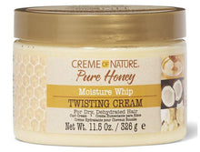 Load image into Gallery viewer, Creme of Nature Pure Honey Moisture Whip Twisting Cream 11.5 oz