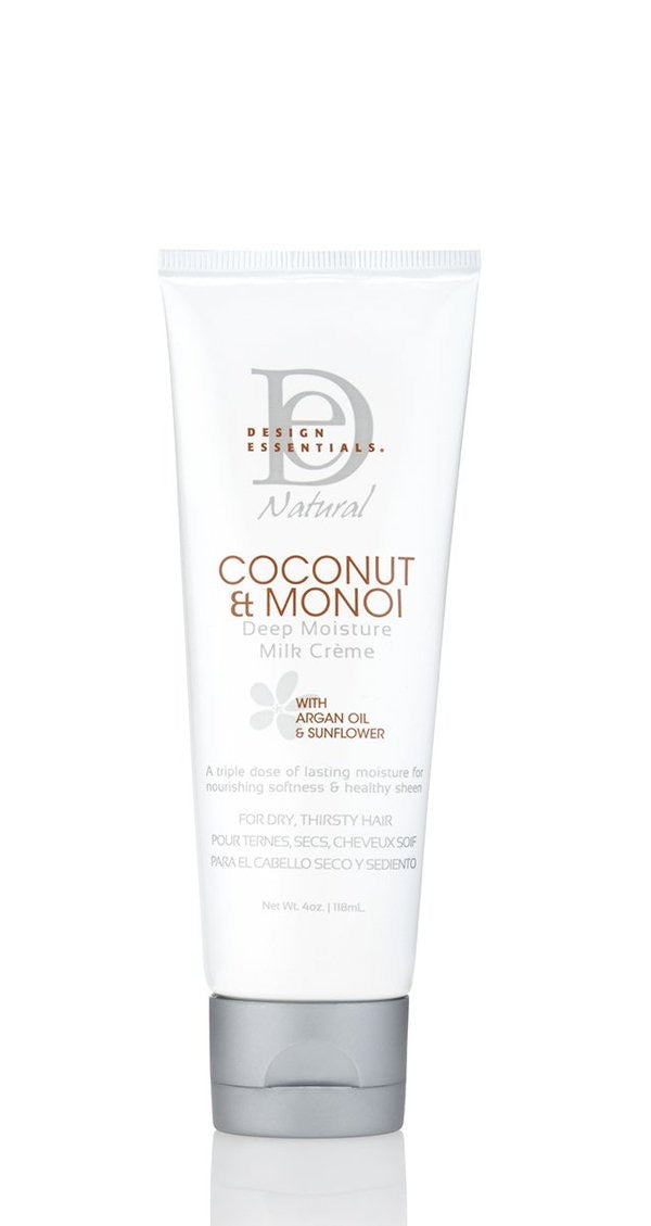 Design Essentials Coconut & Monoi Deep Moisture Milk Creme 4oz