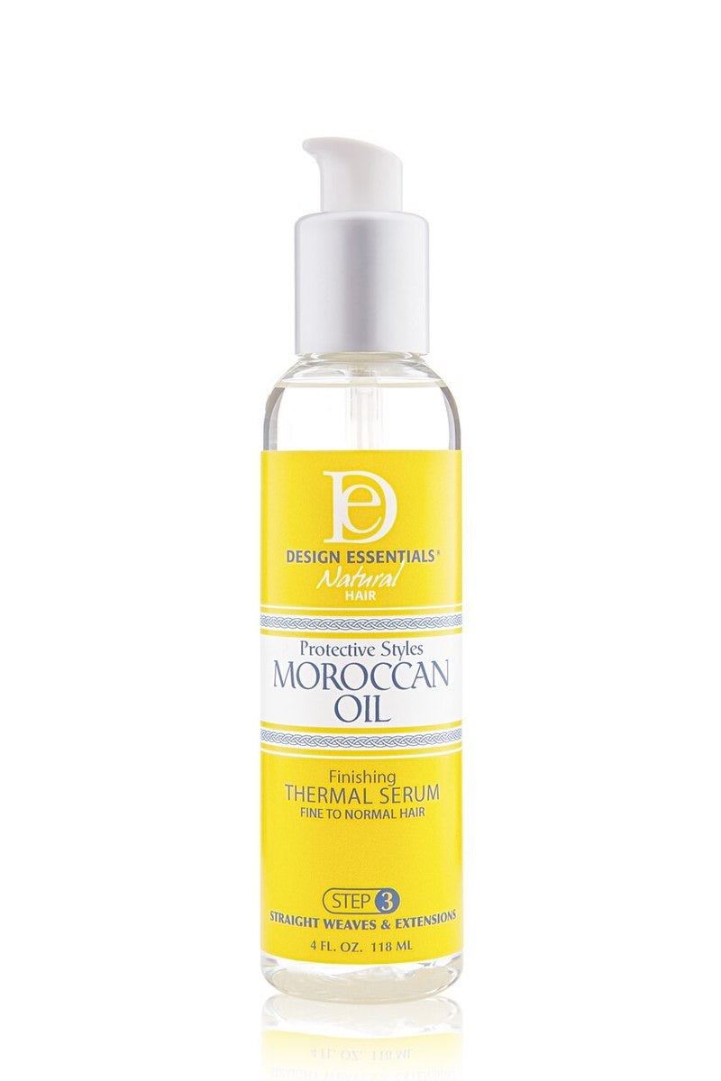 Design Essentials Moroccan Oil Finishing Thermal Serum 4oz