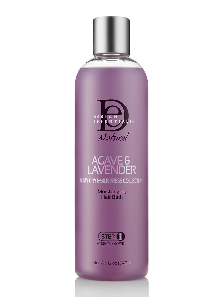 Design Essentials Agave & Lavender Moisturizing Hair Bath 12 oz