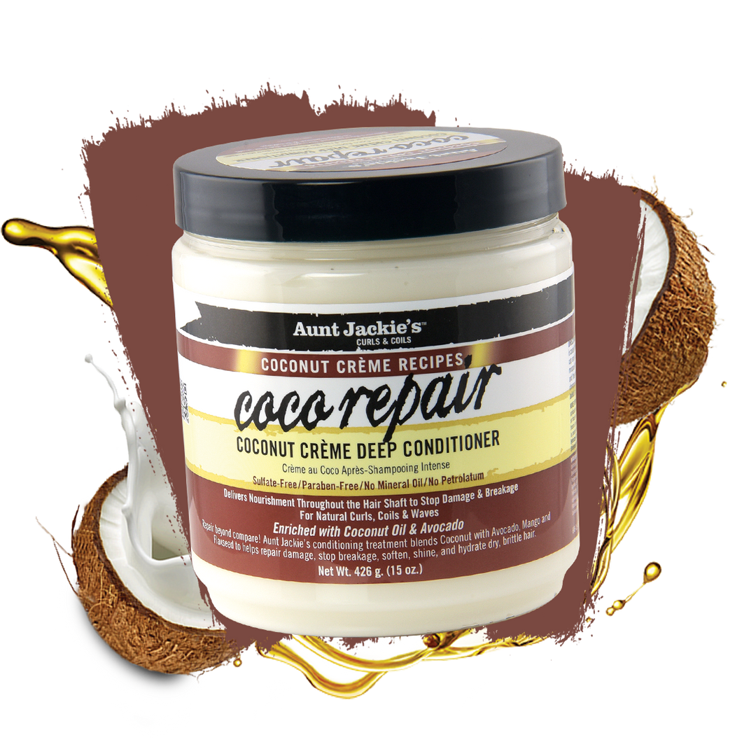 Aunt Jackie's Coco Repair Creme Deep Conditioner 15 oz
