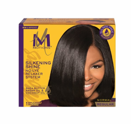 Motions Silkening No Lye Relaxer Regular Strength 1 Application