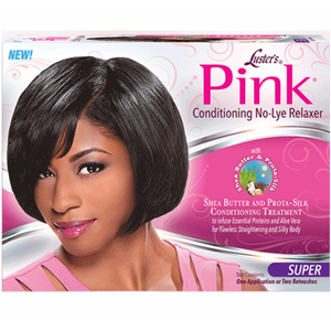 Luster's Pink Conditioning No Lye Relaxer Super