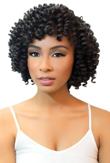 Urban Beauty Naturall Peruvian 8pc Carrie Rod Curl