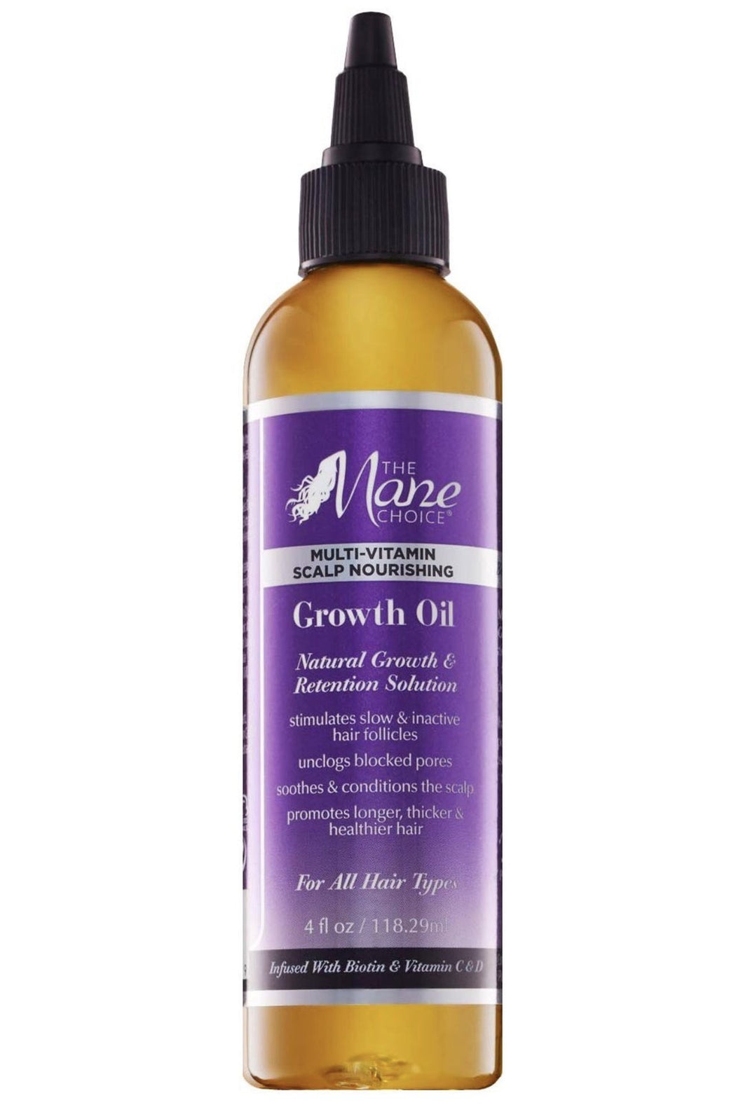The Mane Choice Multi Vitamin Scalp Nourishing Growth Oil 4 fl
