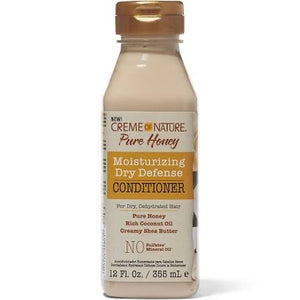 Creme of Nature Pure Honey Moisturizing Dry Defense Conditioner 12 fl oz