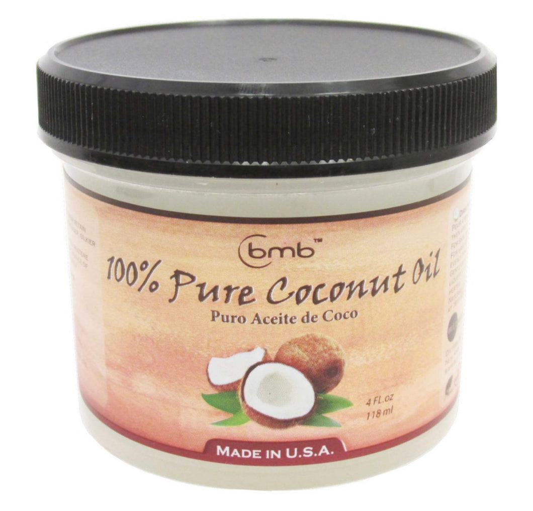BMB 100% Pure Coconut Oil 8 oz