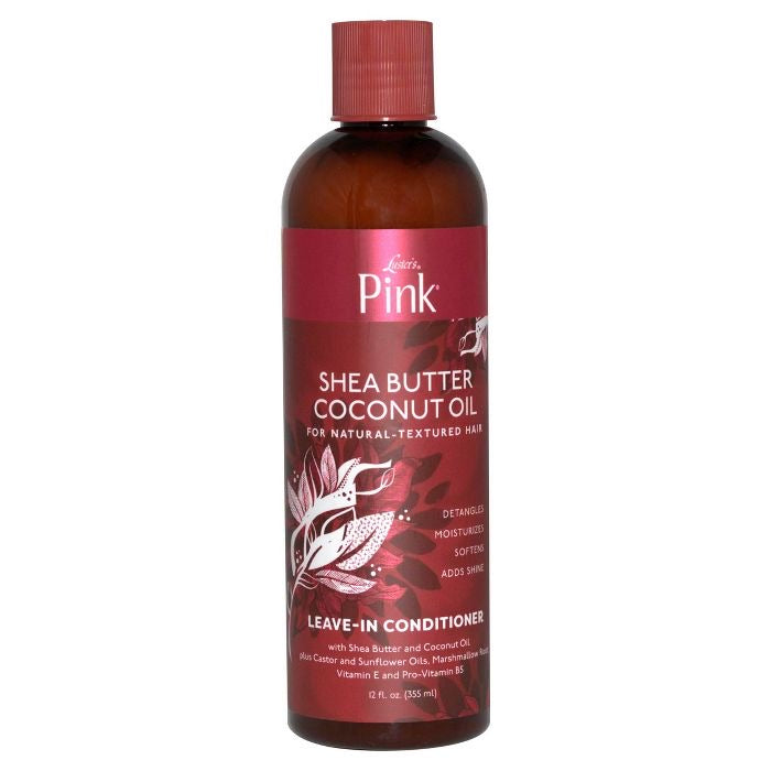 Luster's Pink Shea Butter Coconut Oil Leave In Conditioner 12 fl oz