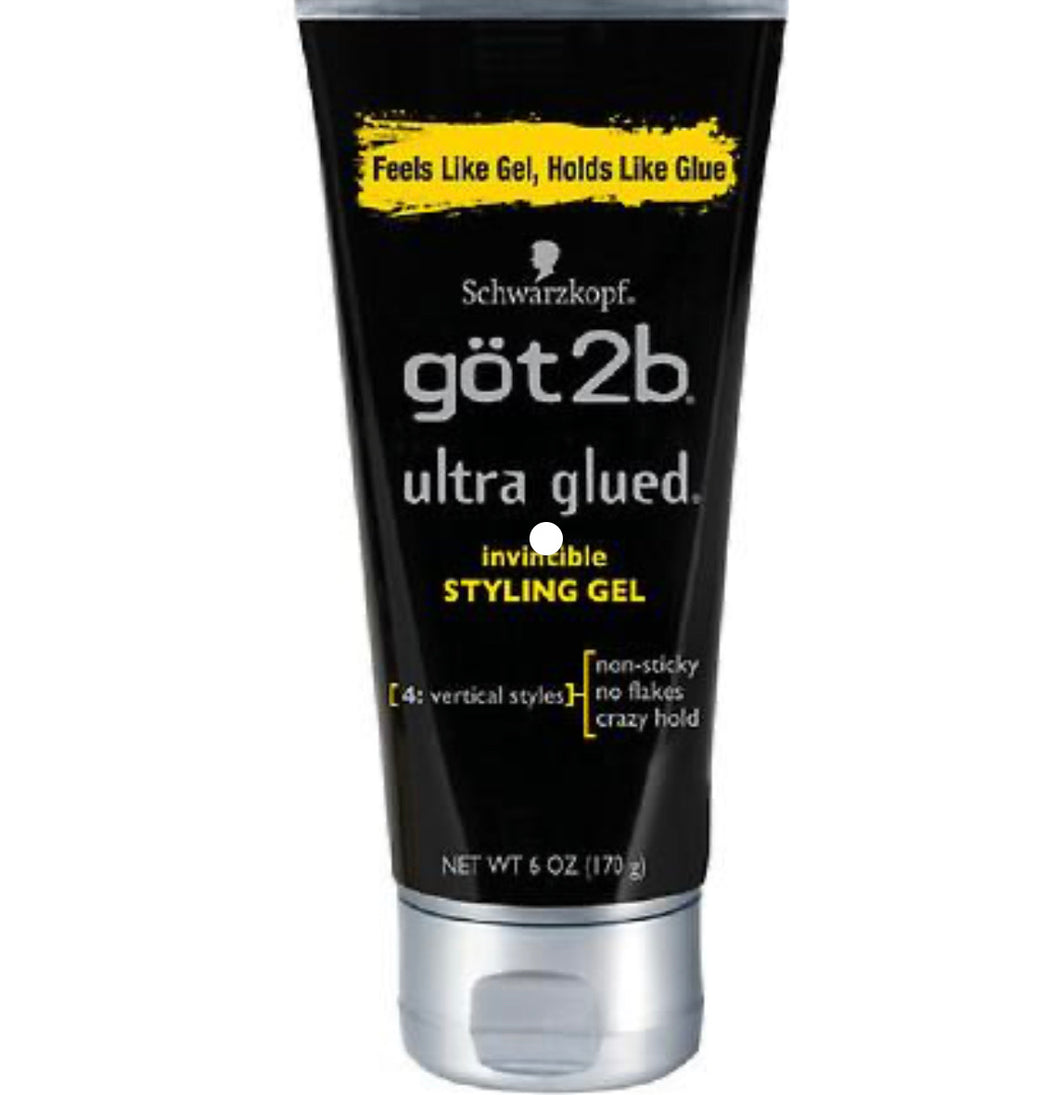 Got 2 B Invisible Styling Gel 6 oz