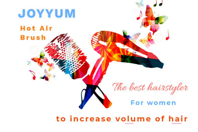 The Best Hairstyler for Women to Increase Volume of Hair - Hot Air Brush