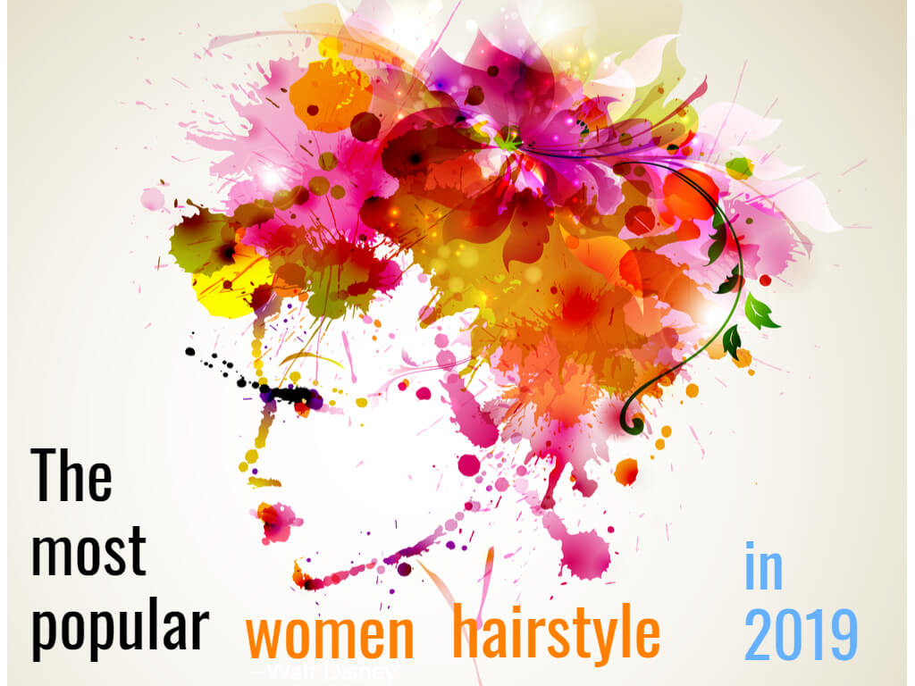 The most popular women hairstyle with hot air brush in 2019