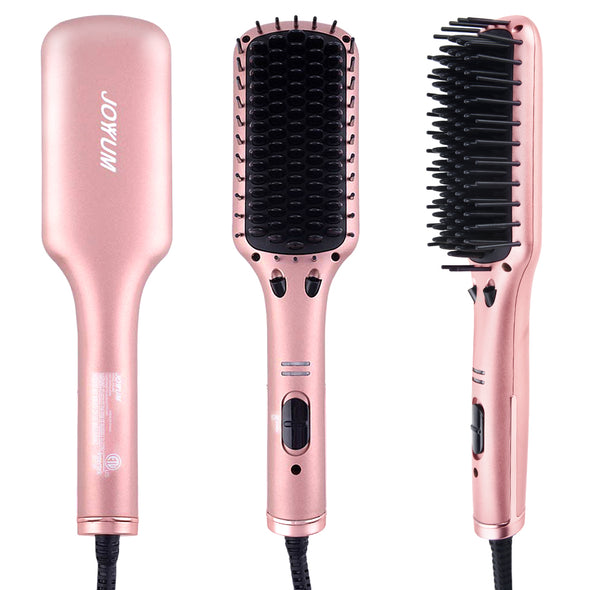 JOYYUM hair straightener brush