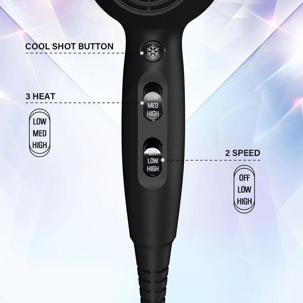 JOYYUM 1875W Professional Hair Dryer