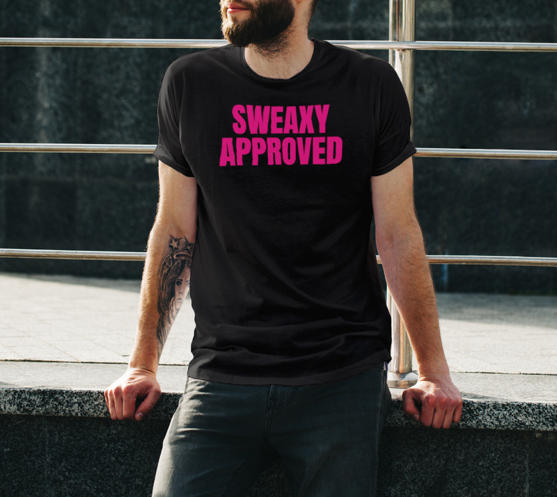 Pink Vinyl Sweaxy Approved Unisex T-Shirt