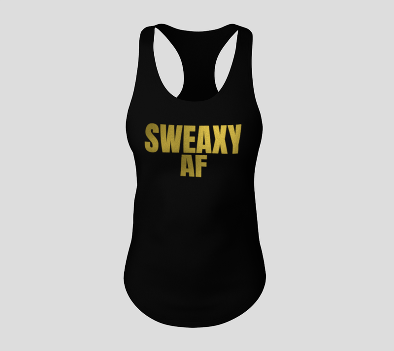 Sweaxy Bosses Tank - #SpinOffTwins