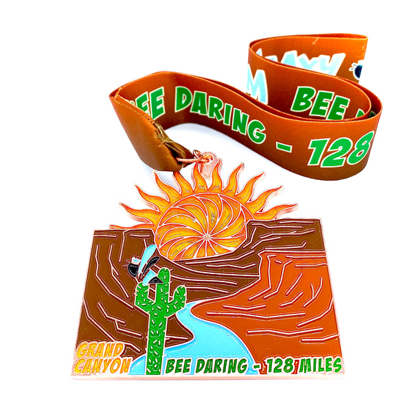 """BEE DARING"" 128mi Swarm Virtual Race - Selected Charity ""REED Foundation for Autism"""
