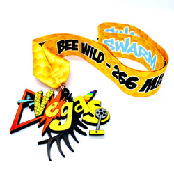 """BEE WILD"" 266mi Swarm Virtual Race - Bike+ Giveaway"