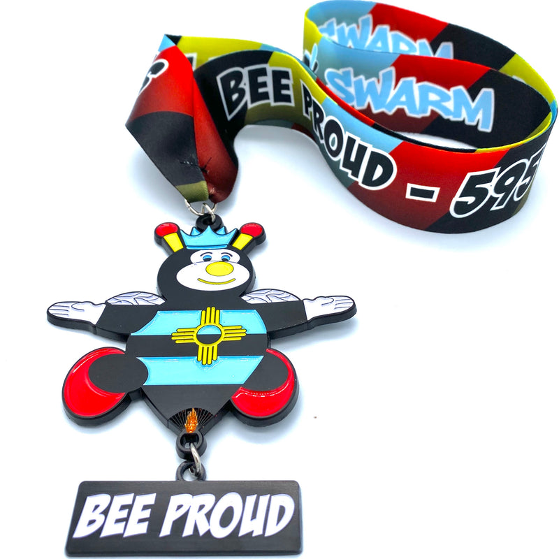 """BEE PROUD"" 595mi Swarm Virtual Race - Support the ""Swarm Holiday Campaign"""