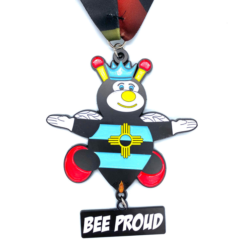 """BEE PROUD"" 595mi Swarm Virtual Race"