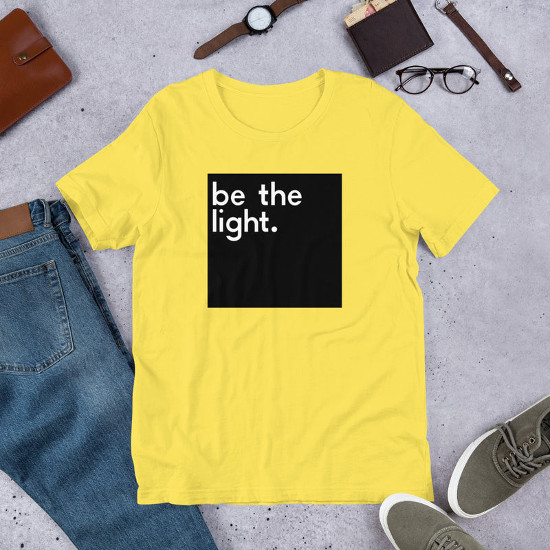 Be The Light Short-Sleeve Unisex T-Shirt