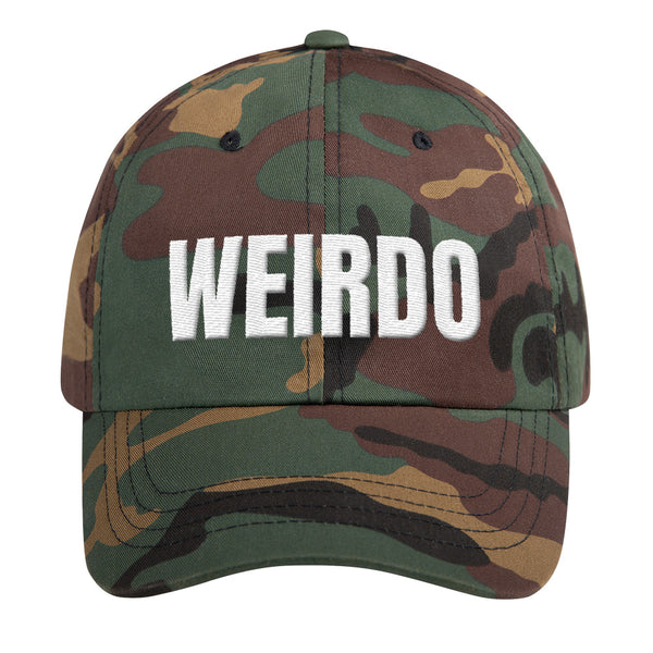 Curved Bill Hat - WEIRDO