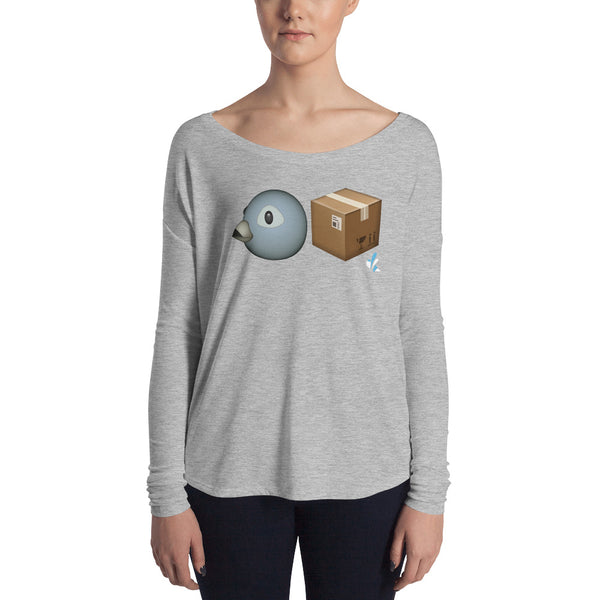 Women's Long Sleeve Tee - Bird Box