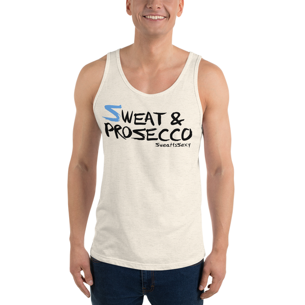 Unisex Tank Top - Sweat & Prosecco - Light