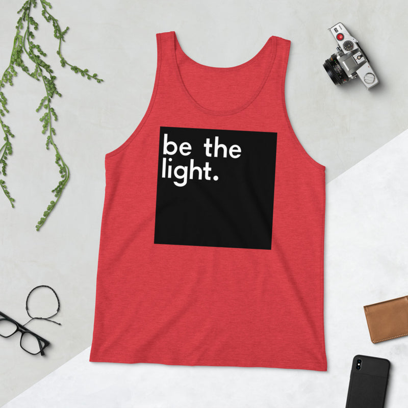 Be The Light Unisex Tank Top