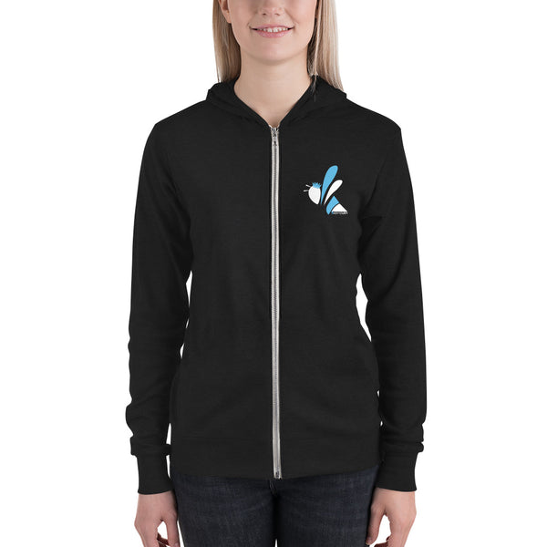 Unisex Zip Hoodie - Celebrate Your Weirdo