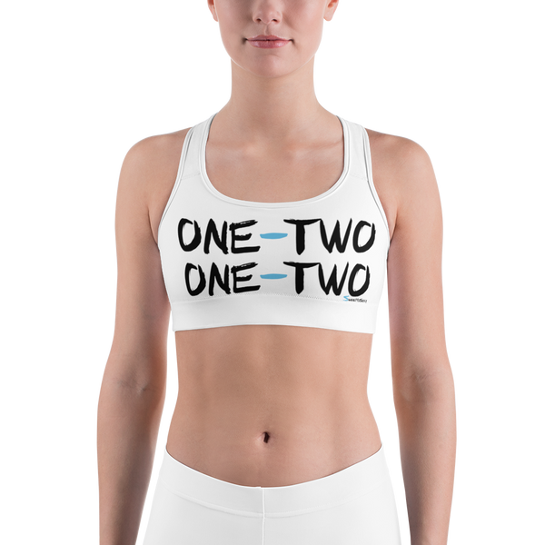 "Sports Bra - ""ONE - TWO"" - Light"