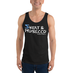Unisex Tank Top - Sweat & Prosecco - Dark