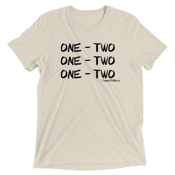 "Short Sleeve T-Shirt - ""One - Two"" - Light"