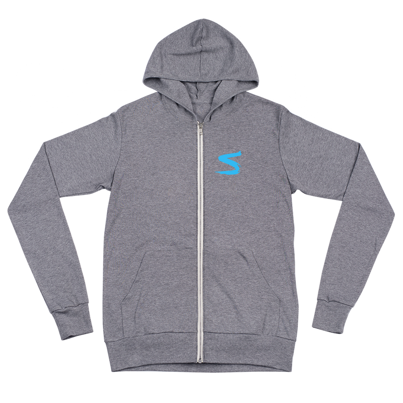 Unisex Zip Hoodie - Find Your Light