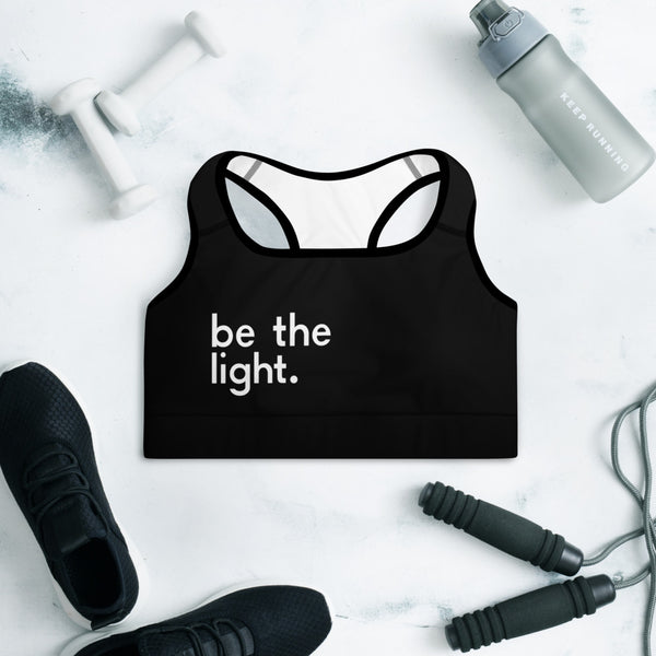Be The Light Padded Sports Bra