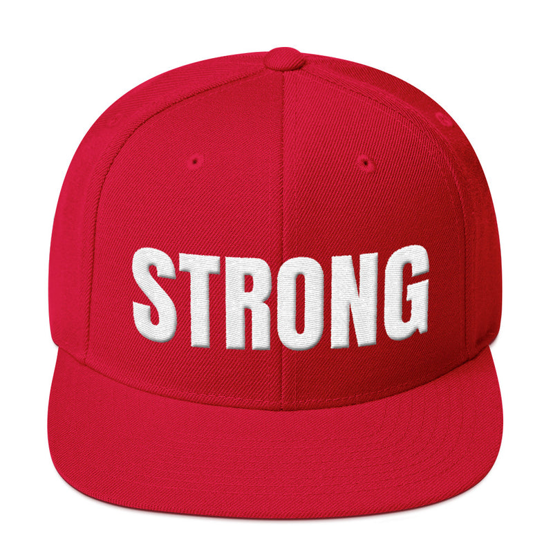 Snapback Hat - Strong