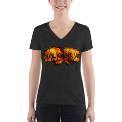 Women's Fashion Deep V-neck Tee - VulgarAF