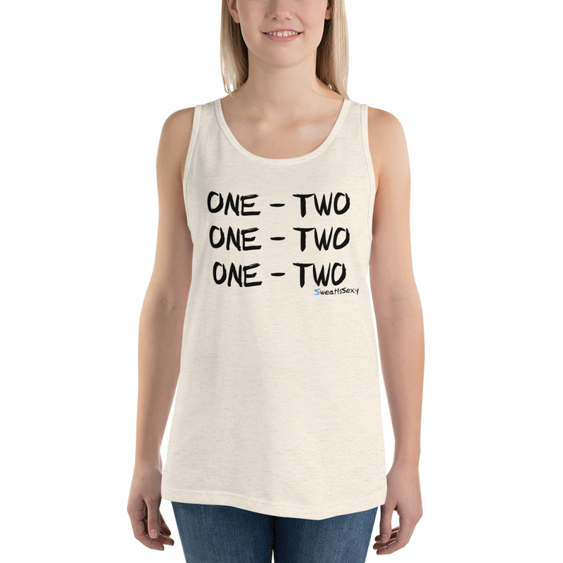 "Unisex Tank Top - ""One - Two"" - Light"