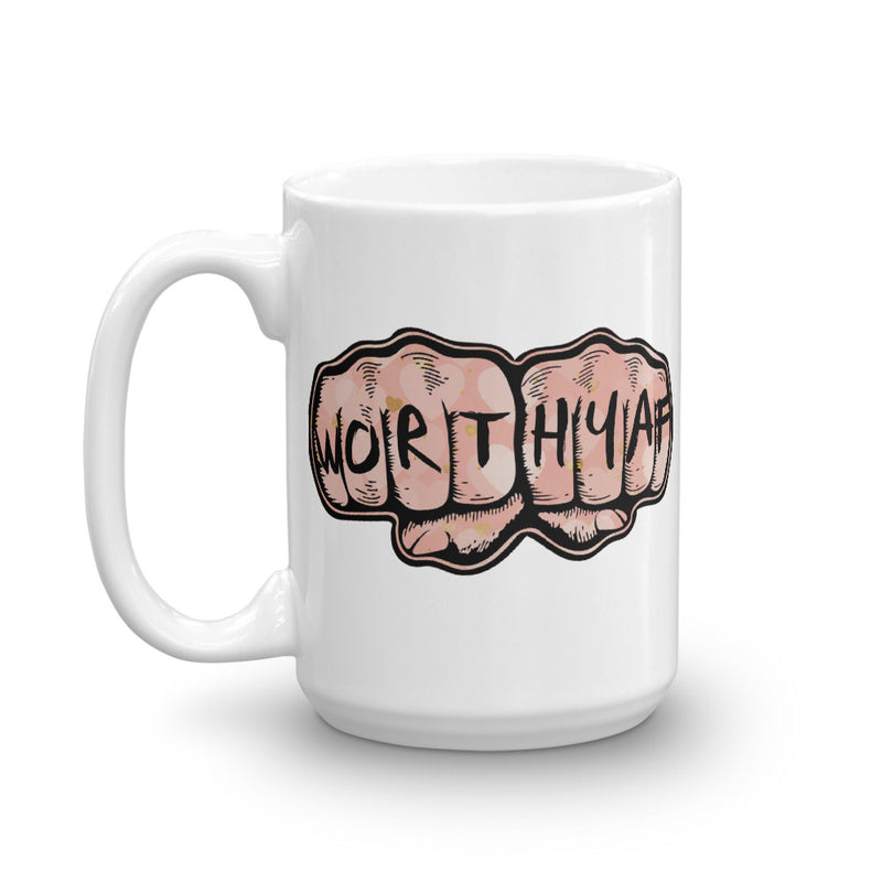 Mug 15oz - WorthyAF