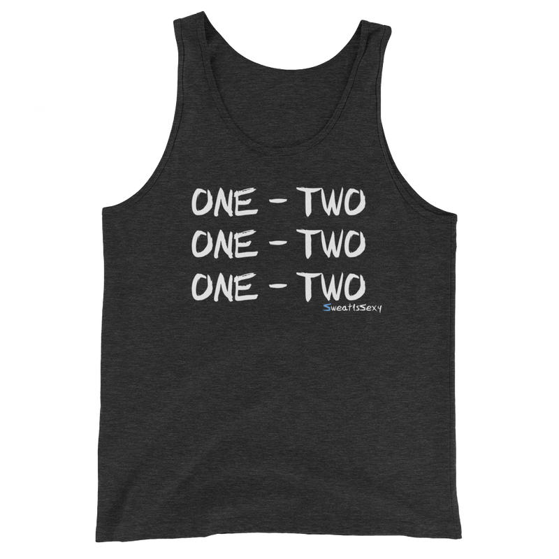 "Unisex Tank Top - ""One - Two"" - Dark"
