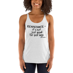 Women's Racerback Tank - Resistance - Light