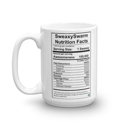 Mug - Nutrition Label