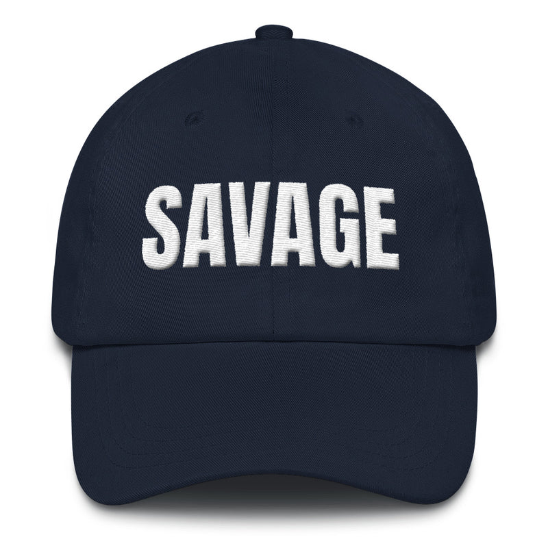 Curved Bill Hat - SAVAGE