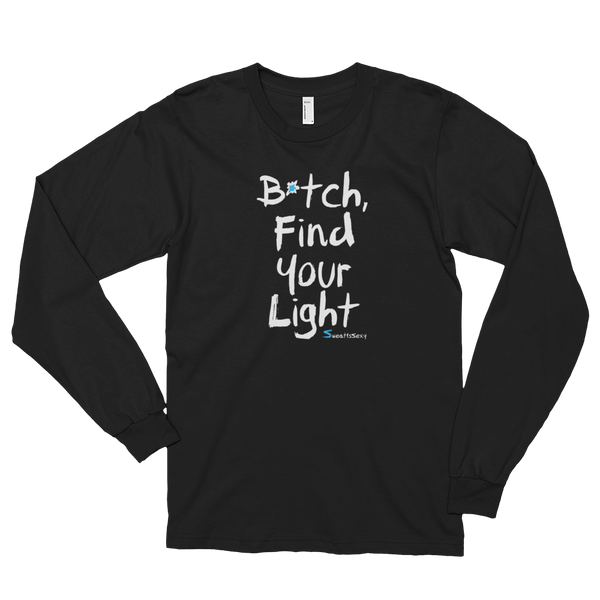 Long Sleeve T-Shirt - Find Your Light -Dark