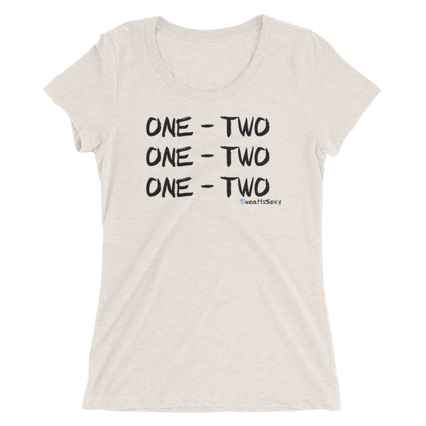 "Women's Short Sleeve T-Shirt - ""One - Two"" - Light"