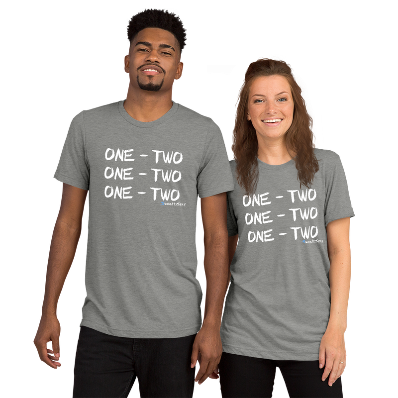 "Short Sleeve T-Shirt - ""One - Two"" - Dark"