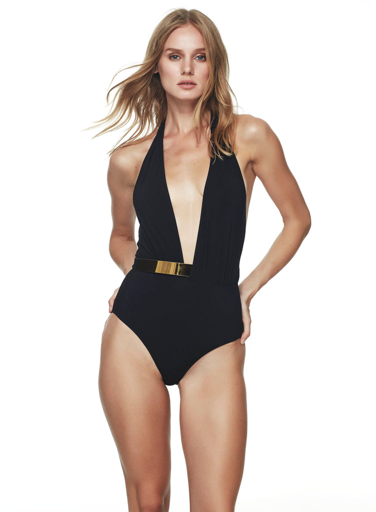 Bridget Black Swimsuit